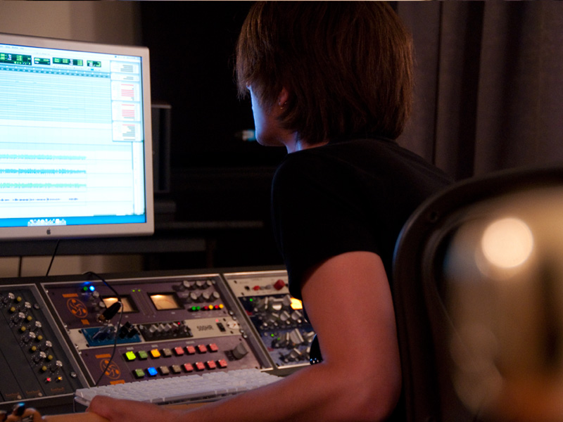 Recording Studio Photo Shoot